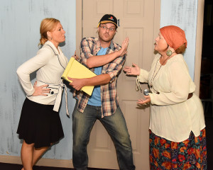 Kristin Staton, Pete Bennett and Mary Curruthers featured in The Kitchen Witches.  It is the second show of Footlighters' 70th season.