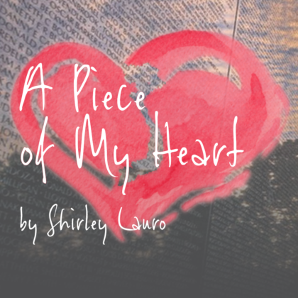 Artwork for A Piece of My Heart by Shirley Lauro